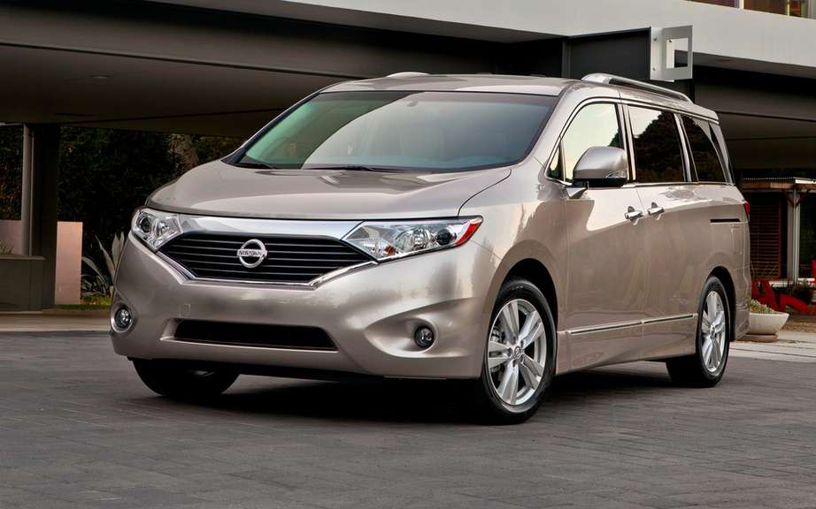 Nissan Canada announces pricing for its effective Quest 2013