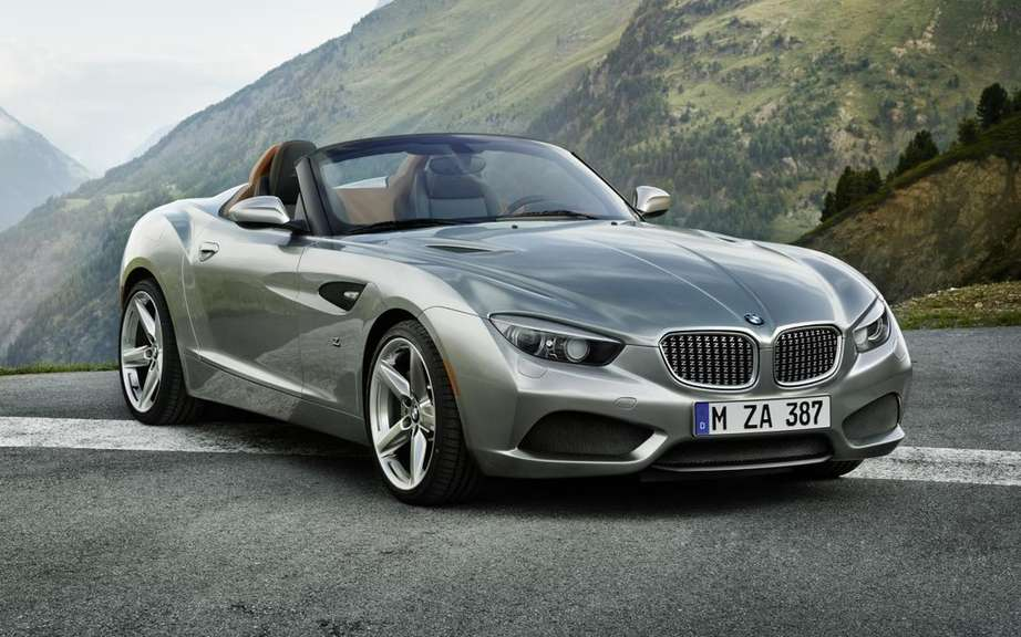 BMW Zagato Roadster Concept: a Concours d'Elegance to another