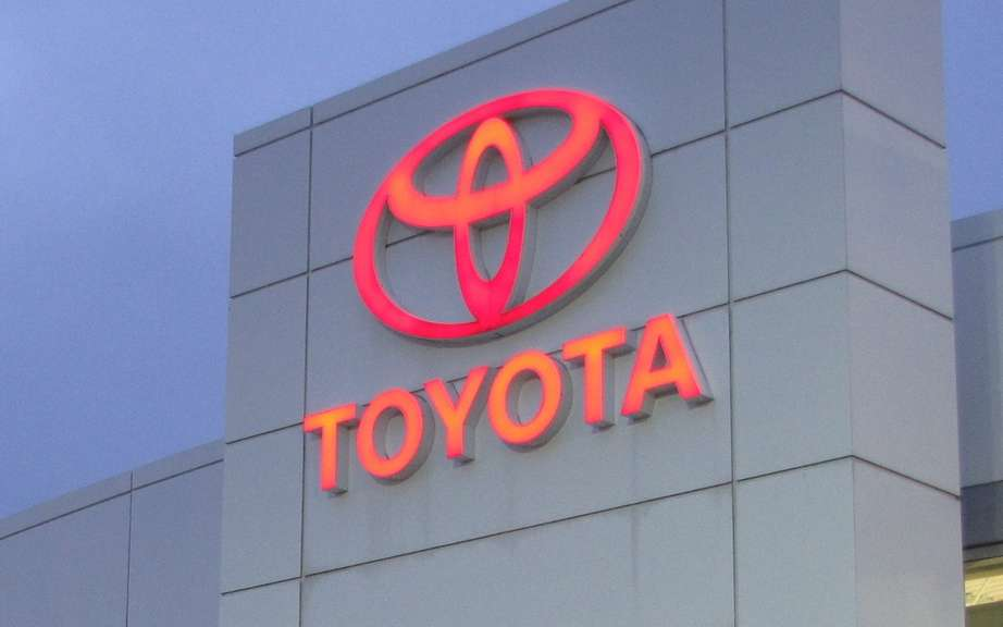 Thanks to its truck sales, Toyota Canada has a record