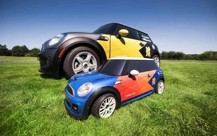 Mini electric MINI: to scale? for the Olympics