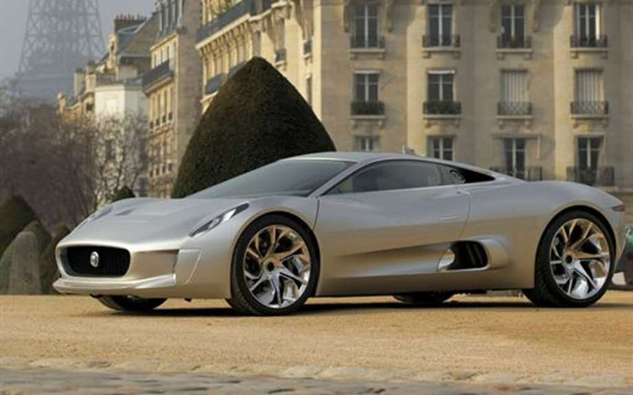 Jaguar C-X75: only 200 copies