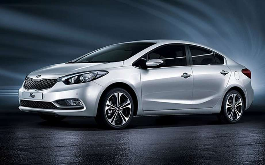 Kia Forte 2014 sketches the official photos picture #1