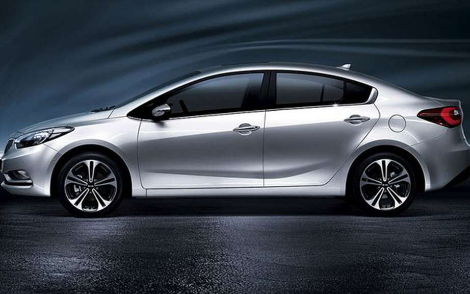 Kia Forte 2014 sketches the official photos picture #2
