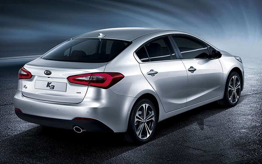 Kia Forte 2014 sketches the official photos picture #3