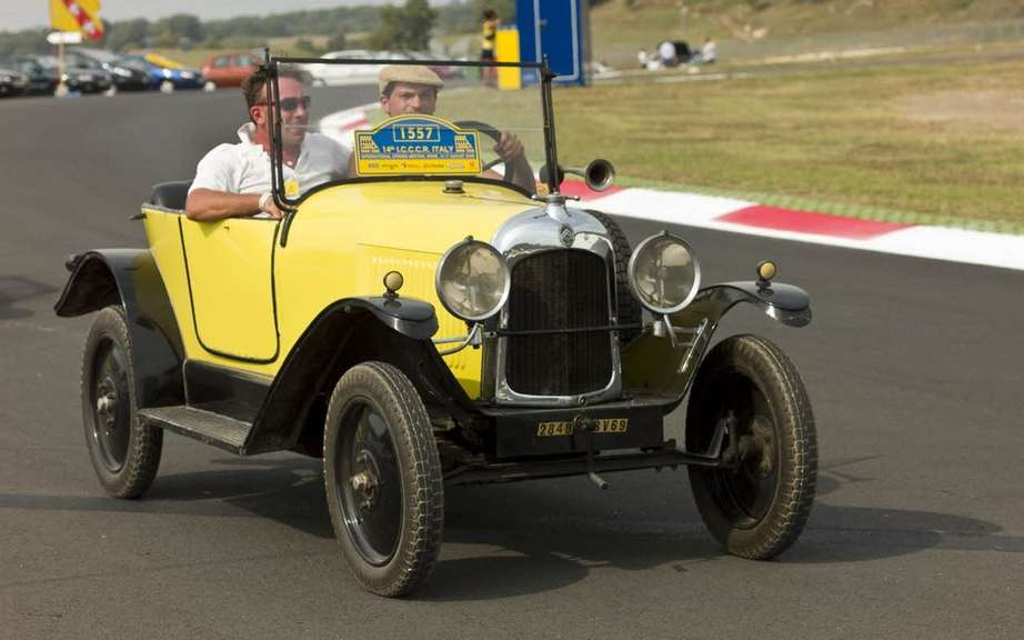 The 15th edition of the International Citroen Car Club Rally