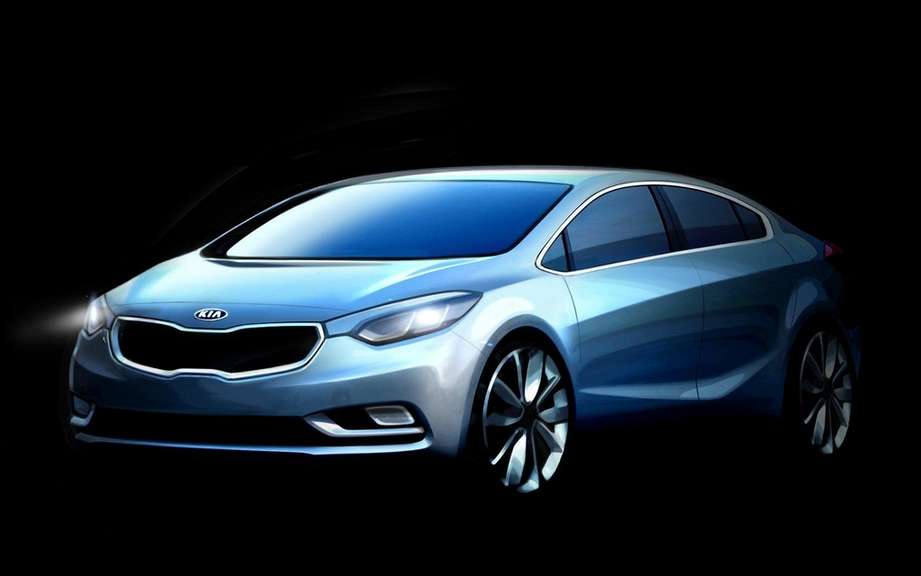 Kia Forte 2014: A second version which promises