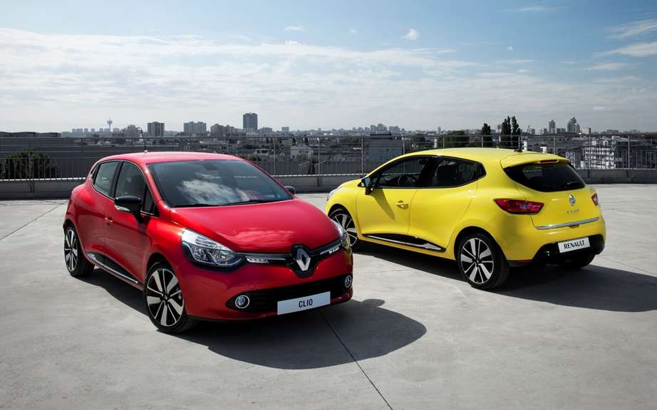 Renault Clio 2012: a sudden heart design and a concentrate of innovations