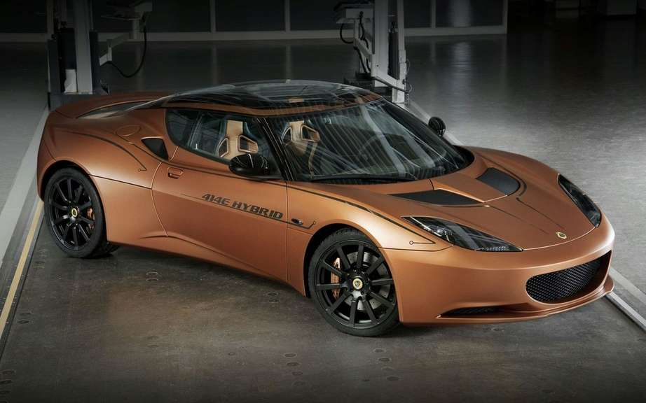 Lotus Evora 414E Hybrid: from concept to prototype