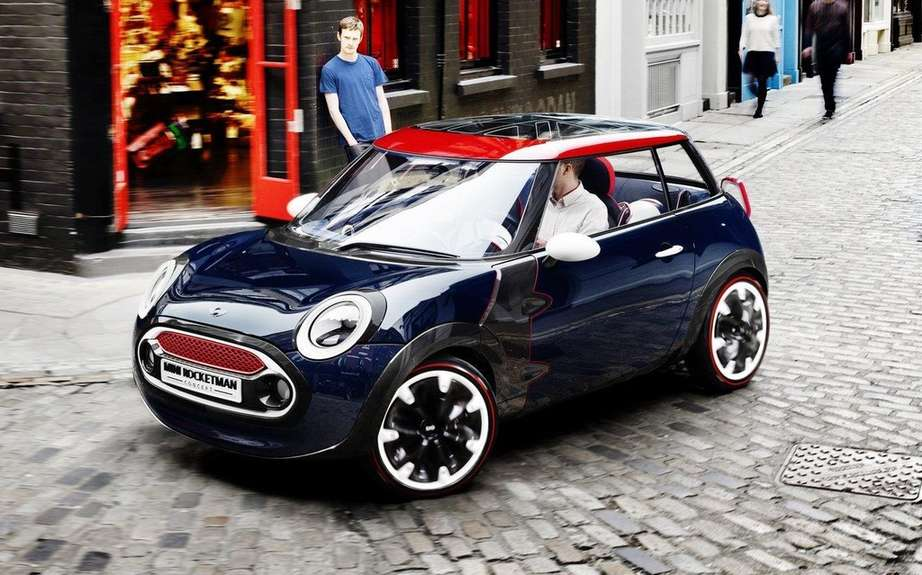 Mini Rocketman to greet the Olympic Games in London
