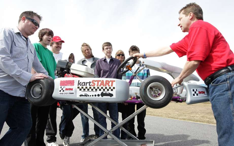 Toyota sponsors the kartSTART 2012 program now offered to children quebecois