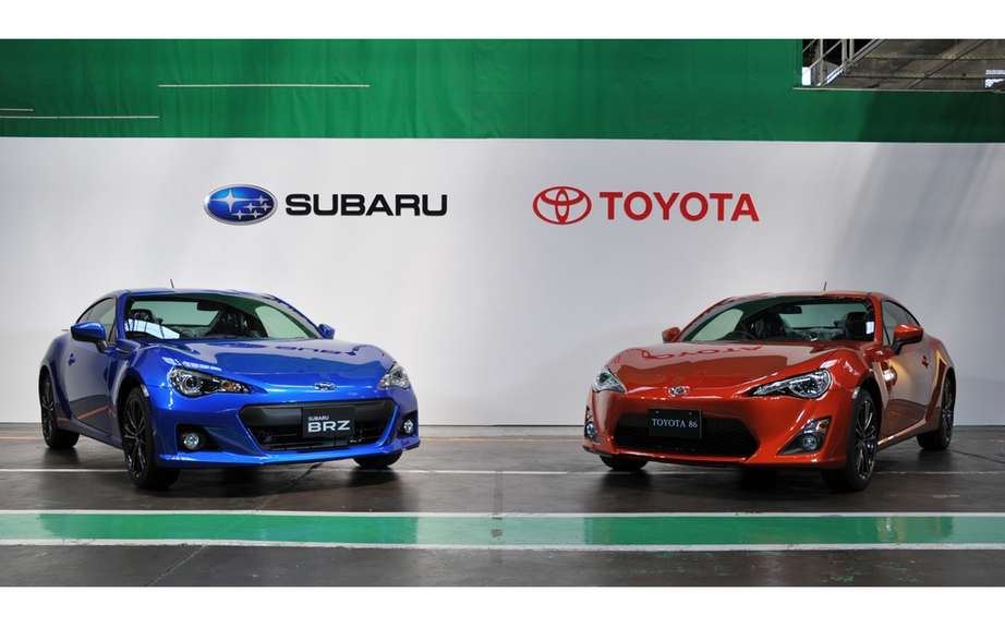 Toyota GT-86 and Subaru BRZ convertible version