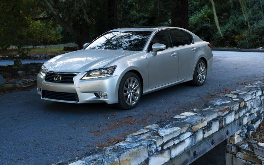 Lexus GS: new entry-level version?