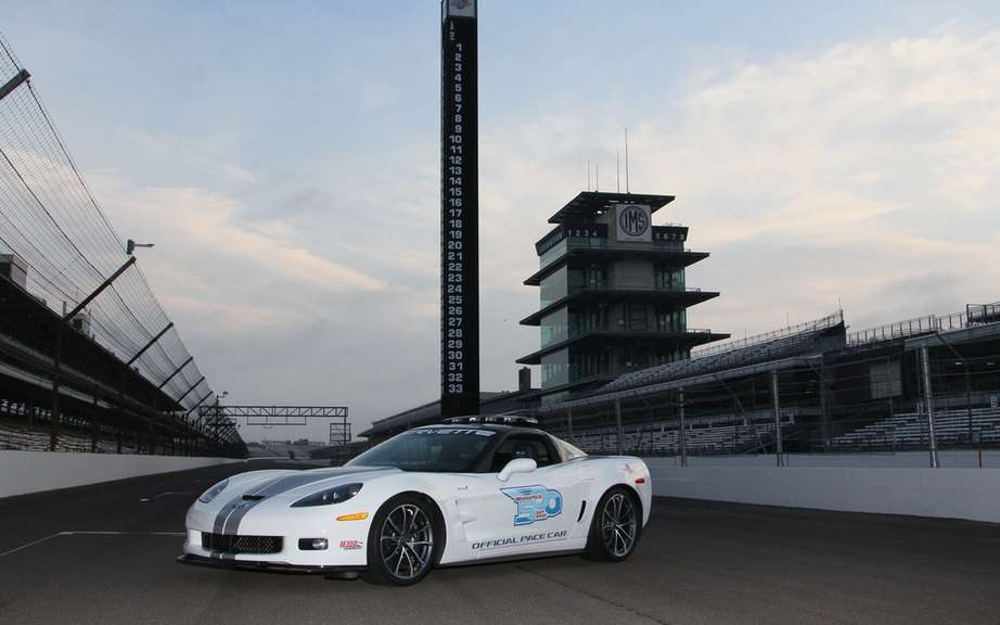 Chevrolet Corvette ZR1 2013: pilot car the 96th race of the Indianapolis 500