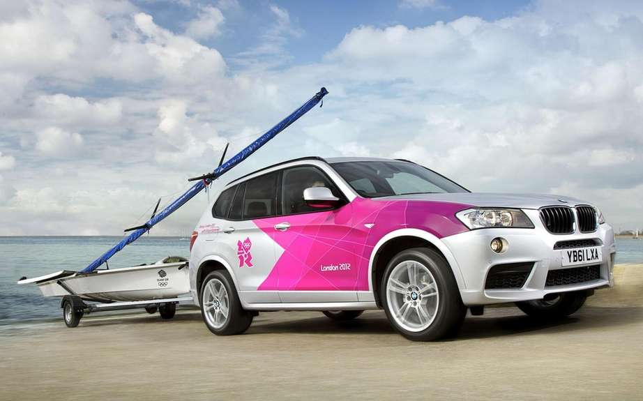 BMW presents its fleet of official vehicles for 2012 Olympics picture #3