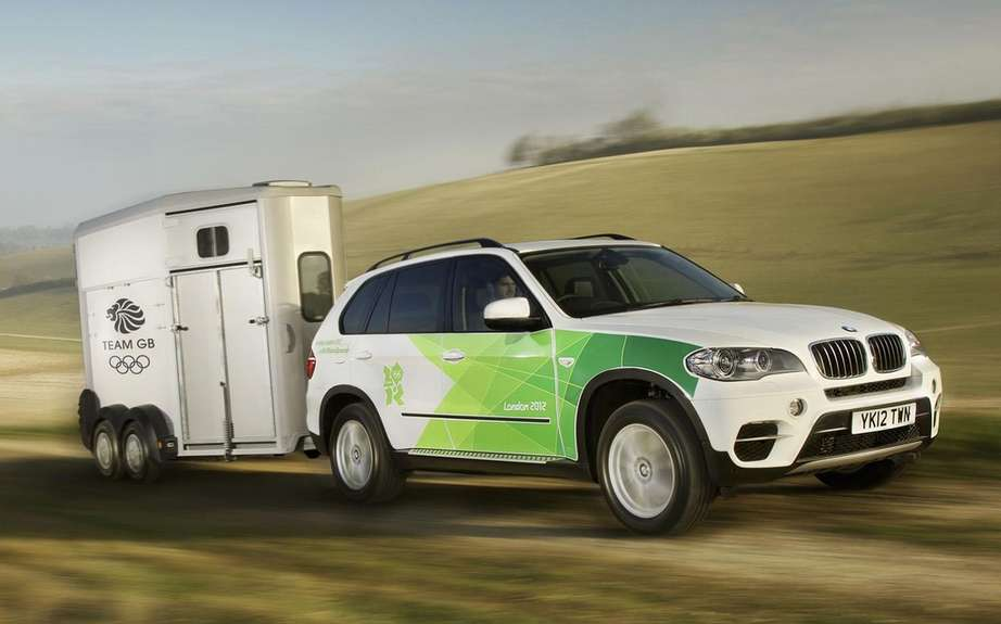 BMW presents its fleet of official vehicles for 2012 Olympics picture #4