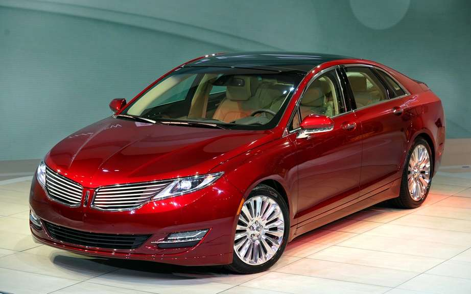 2013 Lincoln MKZ: The future of the brand is coming