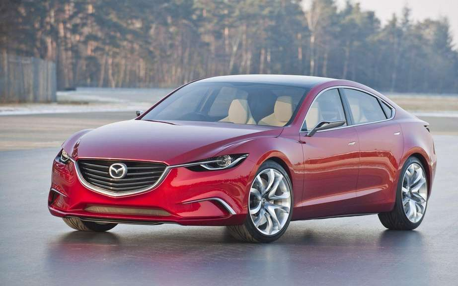 Mazda6 2014 SKYACTIV, a bumper to the other