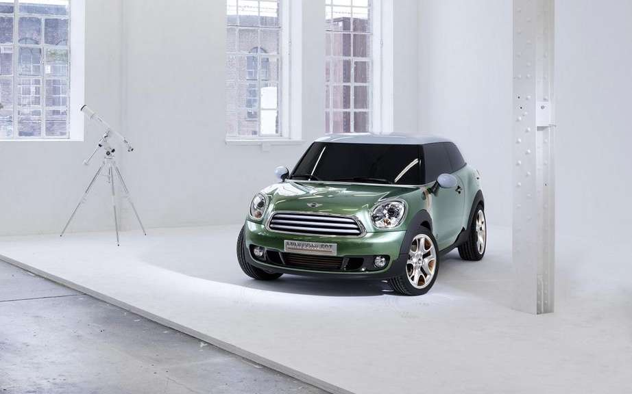 Mini Paceman Concept become the Mini Countryman Coupe