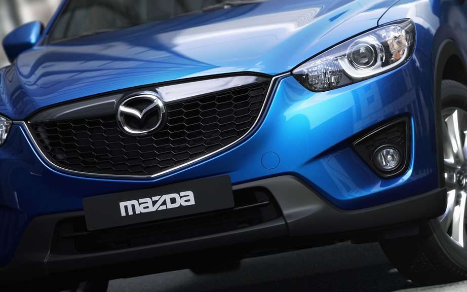 Mazda developed a special resin aimed at reducing the weight of parts of its vehicles