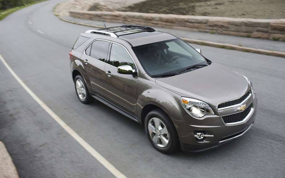 Chevrolet Equinox: Assemble three different places