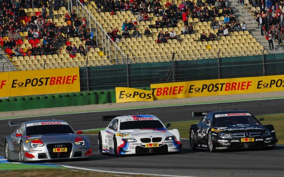 The 2011 DTM champion Bruno Spengler joined BMW