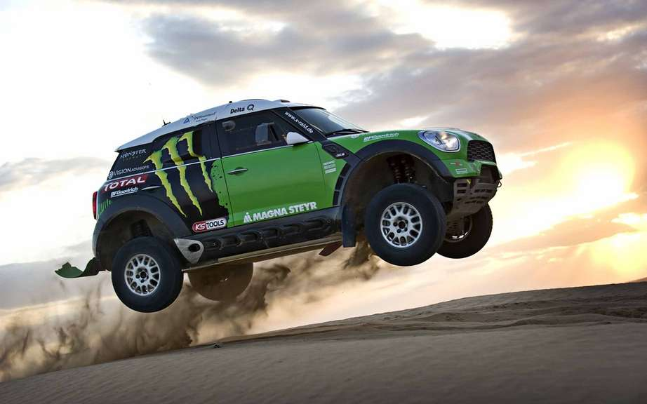 The 2012 Dakar Rally-Raid debuted Sunday