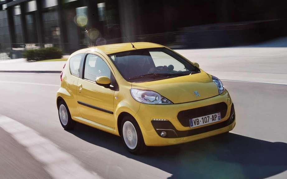 Peugeot 107 2012: a few alterations here and there