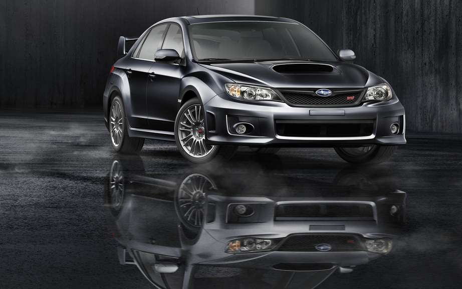 Subaru Impreza WRX and WRX STI 2012: Unveiling of prices and options packages picture #3