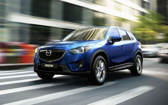 Mazda CX-5 2012: the most revealing pictures picture #1