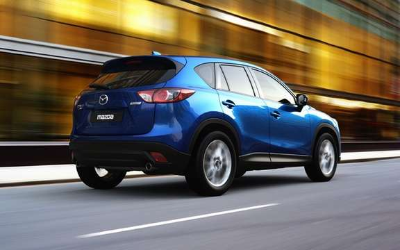 Mazda CX-5 2012: the most revealing pictures picture #2
