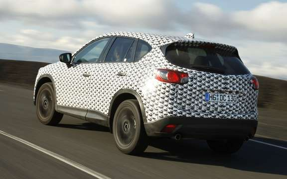 Mazda CX-5 2012: the most revealing pictures picture #7