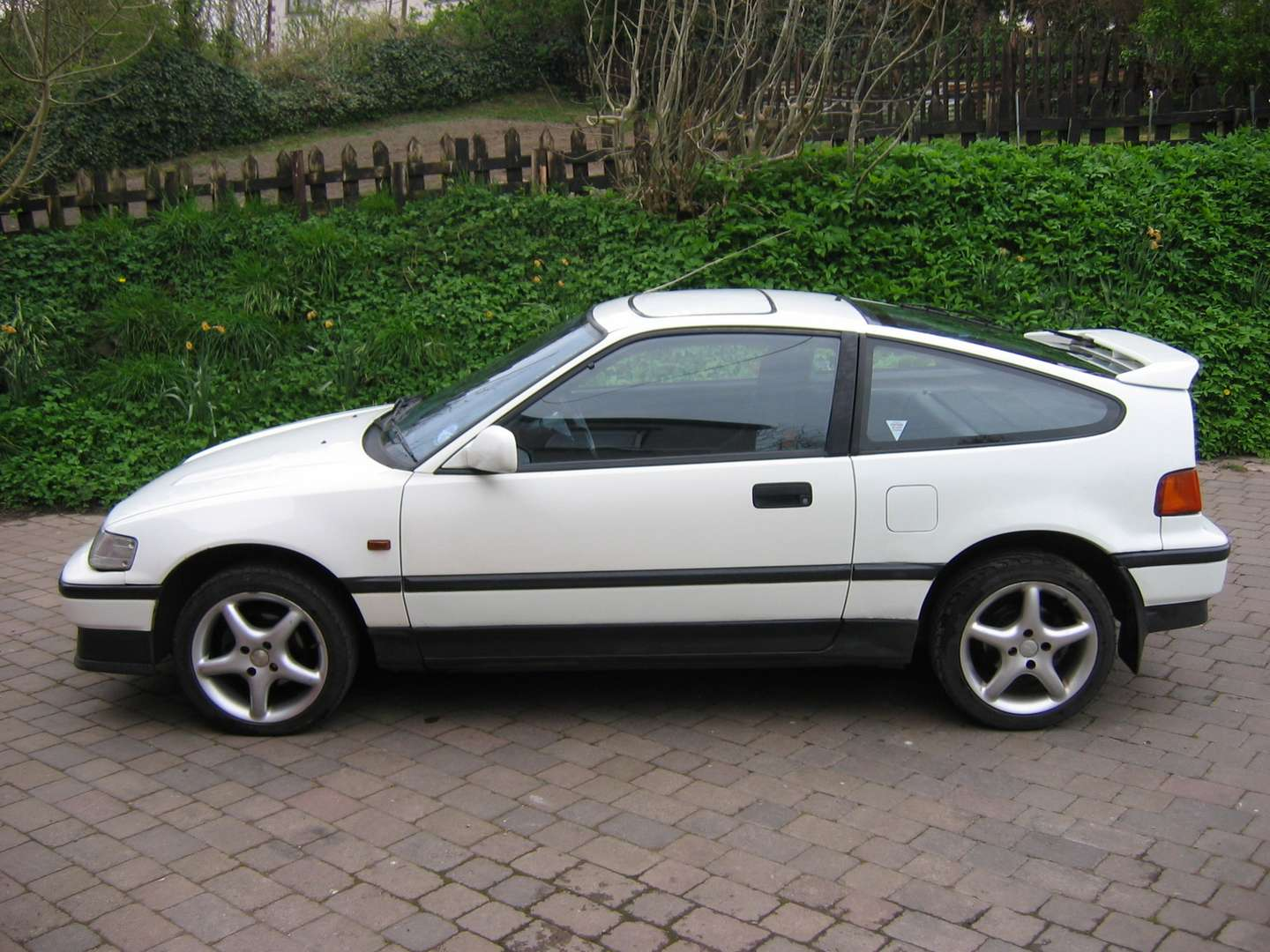 Honda Civic CRX #8290738